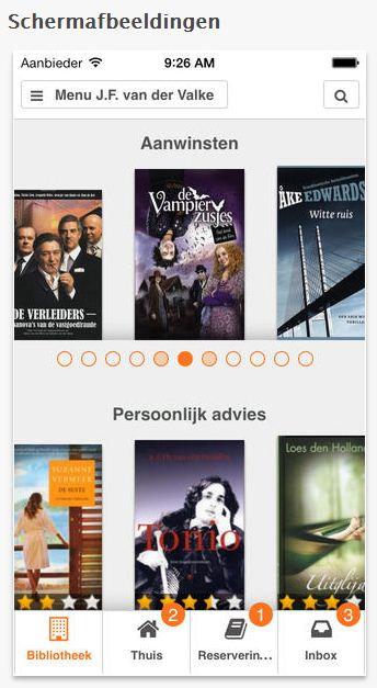 Bibliotheek Wise App